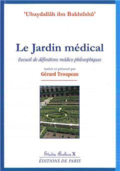 Le jardin médical - Studia Arabica X