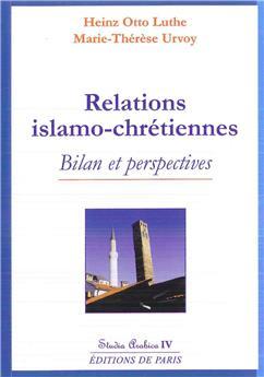 Relations islamo-chrétiennes - Studia Arabica IV