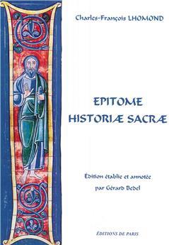 Epitome Historiæ sacræ