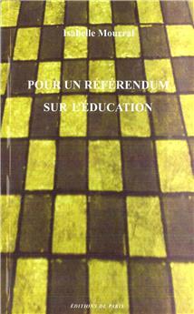 Pour un référendum sur l'éducation
