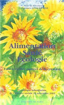 Alimentation, santé, écologie