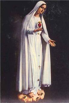 Prières apprises par l'Ange aux voyants de Fatima (image)