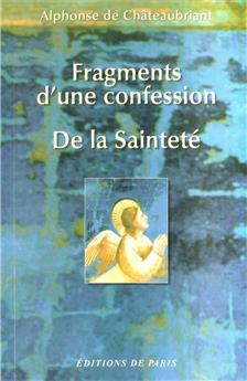 Fragments d'une confession