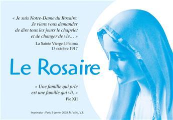 Dépliant Le Rosaire