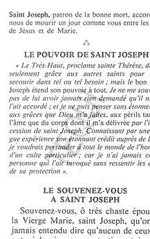 Le pouvoir de Saint Joseph