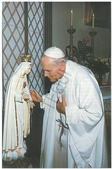 Acte d'offrande de Jean-Paul II Fatima