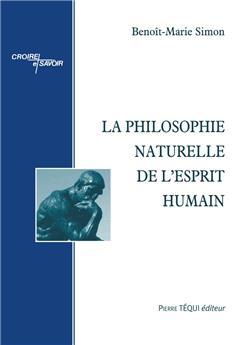 La philosophie naturelle de l'esprit humain