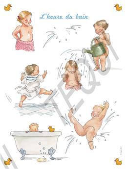 Poster L'heure du bain