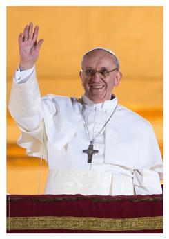 Poster Pape François (à l'unité)