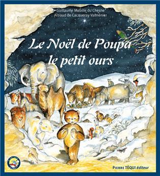 Le Noël de Poupa, le petit ours