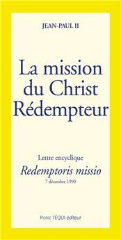 La mission du Christ Rédempteur