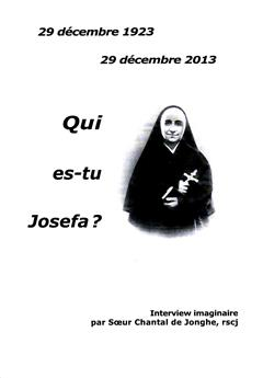 Qui es-tu Josefa ?