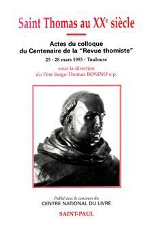Saint Thomas au XXe siècle