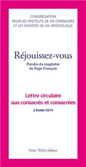 Réjouissez-vous - Lettre circulaire aux consacrés et consacrées (PROMO21)
