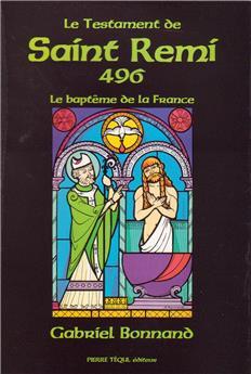 Le Testament de Saint Rémi - 496