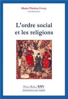 L'ordre social et les religions - Studia Arabica XXV