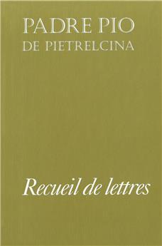 Recueil de lettres Padre Pio (PROMO21)
