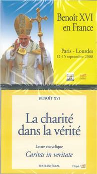 Lot Caritas in veritate + Benoît XVI en France Paris-Lourdes 2008 (7CD)