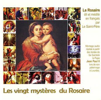 Les vingt mystères du Rosaire (2CD)