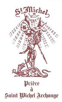 Prière à saint Michel Archange