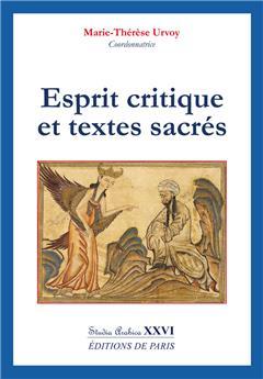 Esprit critique et textes sacrés - Studia Arabica XXVI