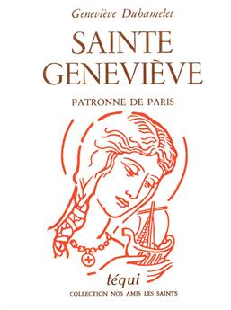Sainte Geneviève, patronne de Paris (PROMO21)