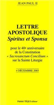 Spiritus et Sponsa