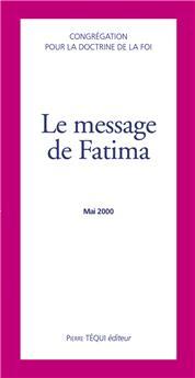 Le message de Fatima