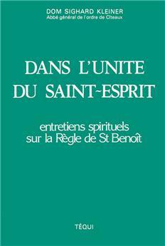 Dans l'unité du Saint-Esprit