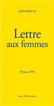 Lettre aux femmes