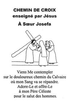 Chemin de croix enseigné par Jésus à Sœur Josefa