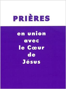 Prières en union avec le cœur de Jésus