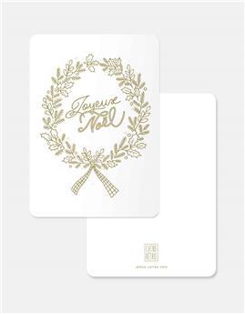 Mini carte Noël « Joyeux Noël »