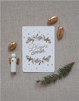 Mini carte « Divine Année »