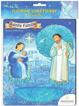 Sainte Famille - Saint en bois Maïte Roche